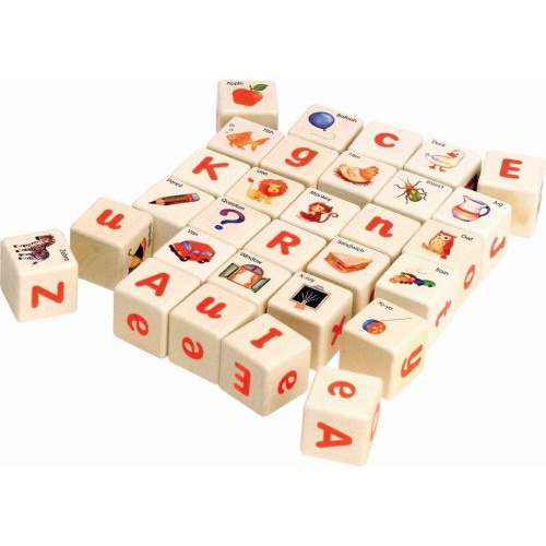 Voila Wooden Alphabet Blocks