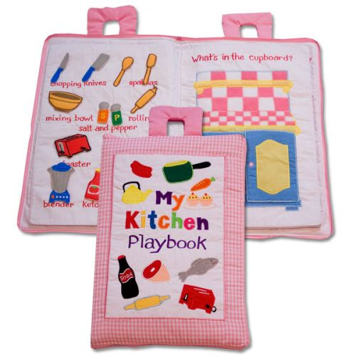 My Kitchen Play Book (Pink)
