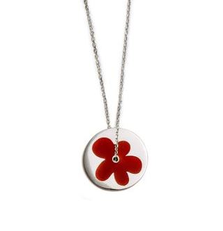 red flower pendant 2