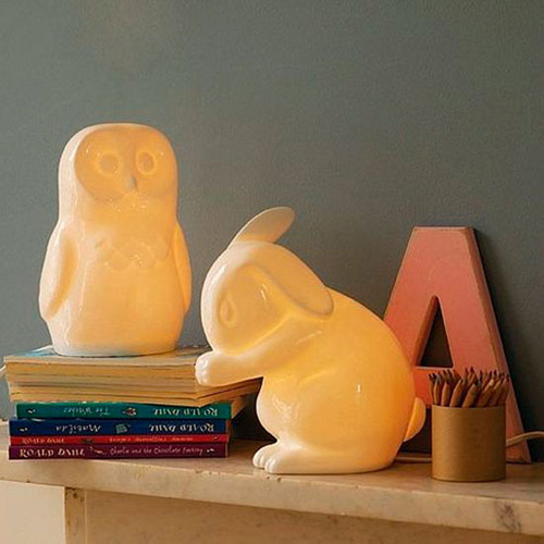 owl and rabbit