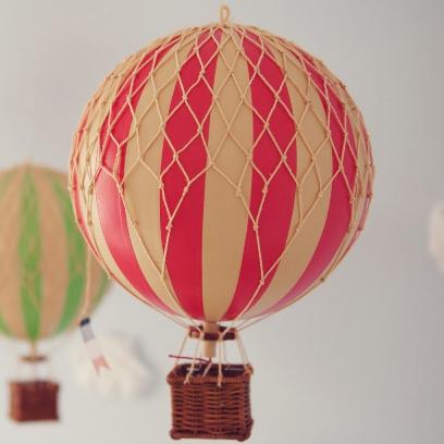 Hot Air Balloon Vintage 89
