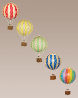small balloons group
