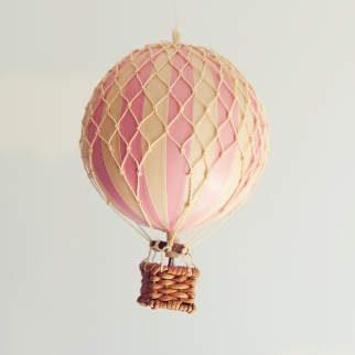 Pink hot air balloon – small