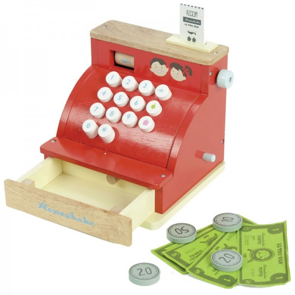 Honeybake Wooden Cash Register