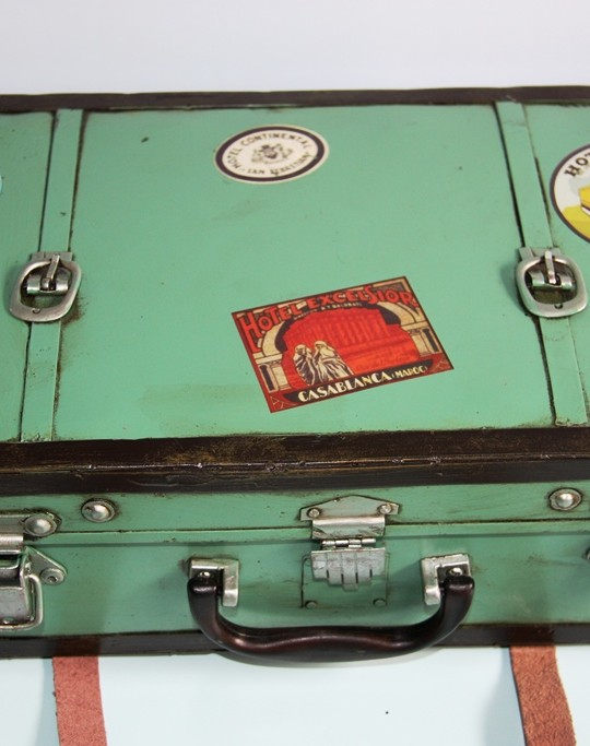 green suitcase 1