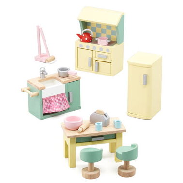 Le Toy Van Daisy Lane Doll's House Furniture Kitchen Set