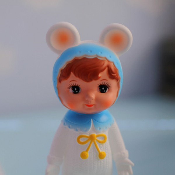 Lapin & Me Woodland Doll- Blue with White Ears