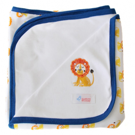 Lion Reversible Blanket