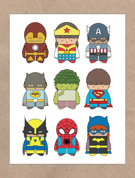little superheros 1