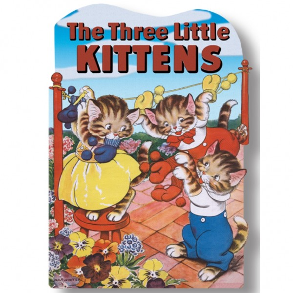 the three little kittens book