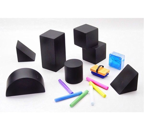 Kitpas Tsumiki blackboard blocks and chalk set 2