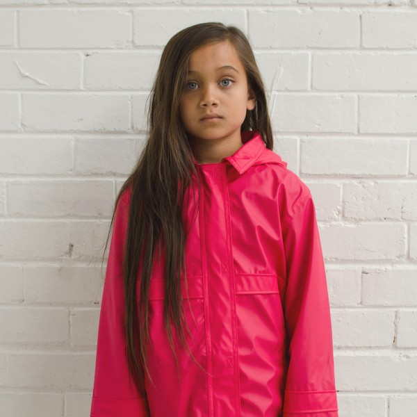pink raincoat high res