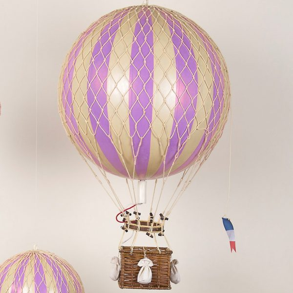 large lilac balloon