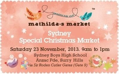 mathildas market Nov 2013