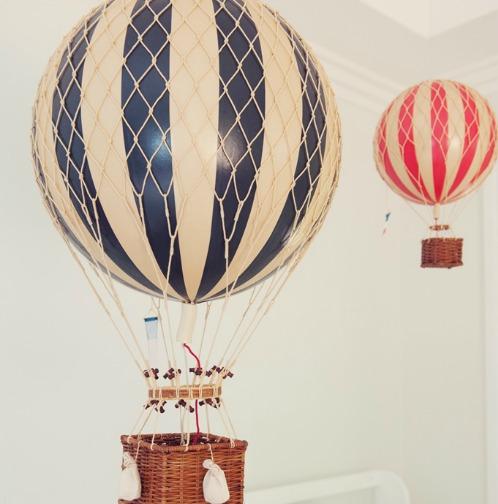 Hot Air Balloon Vintage 92
